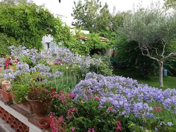 <i>Jardin client fleuri</i>