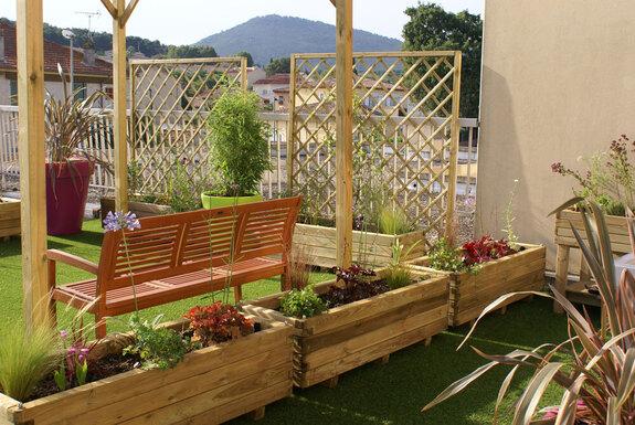 <i>Espace vert terrasse</i>