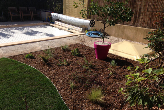<i>Création de jardin rendu</i>
